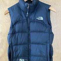 North Face First Ascents 700 Down Vest Womens Size Xs Black Photo