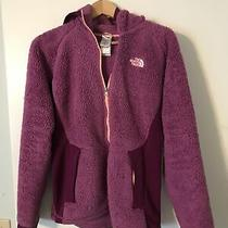North Face  Fuzzy Jacket Womens Small Purple Photo
