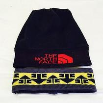 North Face Headband Hat Vintage Steep Tech Rescue Heli Extreme  Photo