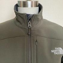 North Face Softshell Jacket Apex Series Olive Green Women's Size Small Photo