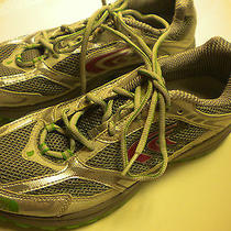 North Face W Running Shoes Single Track Th in Griffin Grey/hamel Green 7.5 Nwt Photo