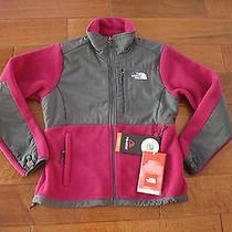 North Face Womens Denali Fleece Jacket Size Small Nwt Berry Lacquer Purple Photo
