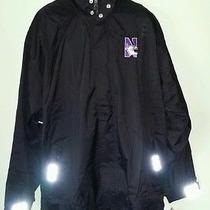 Northwestern Wild Cats College Adidas Jacket New With Tags Size 3xl. Photo