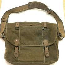 Nos Fossil  Mens Messenger Crew Laptop Bag  Mbg1030345  Olive  118 Retail  Photo