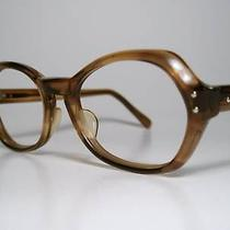 Nos Ladies Vintage Sun/eyeglasses Frame American Optical A/o Demi-Amber 46-17 Sm Photo