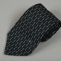 Nos Mens Woven Handmade 100% Silk Necktie Celine Tie Modernist Design Photo