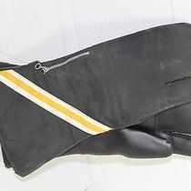 Nos Nwt New Vtg Vinyl Thermal Lined Avon Snowmobile Mittens Adult One Size Photo