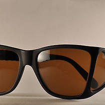 Nos Super Rare Matte Black Vintage Sunglasses Persol Ratti 009 Four Lenses Italy Photo