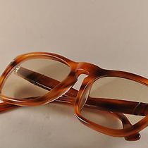 Nos Vintage Sunglasses 80s Persol Meflecto Ratti 69229 Light Havana Persolmatic  Photo