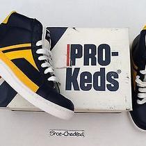 Nos Vtg 80s Pro Keds Shot Maker Basketball Sneakers Mens 7 1/2 Deadstock 9 Wmns Photo
