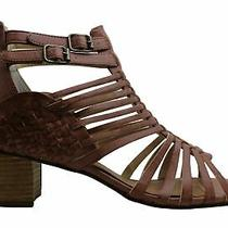 Not Rated Women's Shoes Ofanto Open Toe Casual Strappy Sandals Blush Size 11.0 Photo