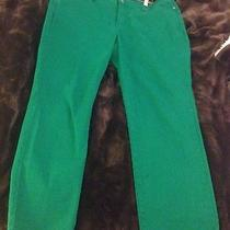 Not Your Daughter's Jeans Alisha Ankle Skinny Jeans in Clover Size 14 Photo