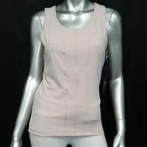 Not Your Daughter's Jeans Nwt City Sport Beige Slimming Athletic Shirt Sz S 58 Photo