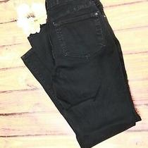 Not Your Daughter's Jeans Nydj Black Leggings Sz 4 Denim Womens Pants Stretch  Photo