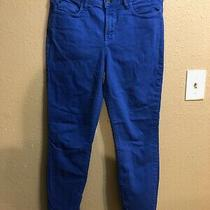 Not Your Daughters Jeans Clarissa Ankle Jeans Sz 6 Blue Stretch Slim Leg Photo