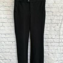 Not Your Daughters Jeans Nydj Black Straight Leg Trouser Pants-Size 4-26