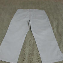 Not Your Daughters Jeans Nydj Bling Green Crop Jeans Size 10  21 5/8