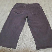 Not Your Daughters Jeans Nydj Slimming Brown Capri Jeans Size 10 16 1/4