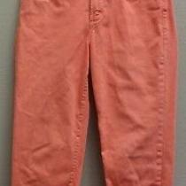 Not Your Daughters Jeans Nydj Womens Salmon Stretch Straight Leg Ankle Jeans - 4 Photo