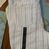 Not Your Daughters Jeans Striped Capri 12 Photo