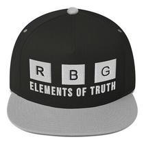Notorious Rbg Element of Truth Periodic Feminist Snapback Flat Bill Hat Photo