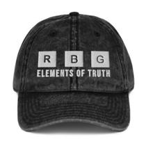 Notorious Rbg Element of Truth Periodic Feminist Vintage Baseball Hat Photo