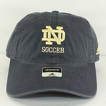 Notre Dame Soccer Ncaa Adj Cloth Belt New by Adidas for Woman E66 Photo