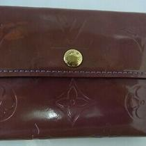 Nt01 Louis Vuitton Vernis Ludlow Coin Case Card Case Photo