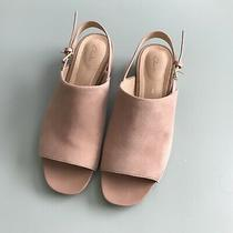 Nude Blush Clarks Orabella Ivy Sandal Sling Back Heel Women's Size 8 Photo
