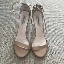 Nude High Heeled Sandals by Steve Madden Size 9.5 M Photo