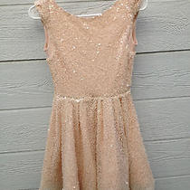 Nude Sequined Cocktail/prom Dress by Topshop Photo