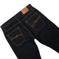 Nudie Average Joe Dry Heavy Jeans Men's 32 Authentic Like New - Rrp 220 Photo