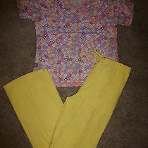 Nursing Scrub Nurse Uniform Top/pants Size S Tall  Dickies & Barco  Summer  B4 Photo