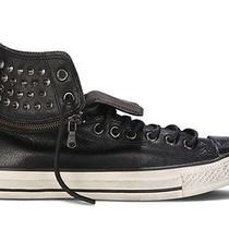 Nwb 170 Converse by John Varvatos Leather Ct Zip Off Hi Black/turtle Us Mens 10 Photo
