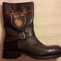 Nwb Dsquared Goodyear Const. Engineering Boots ( Marsell Smith ) 11 44 Brown Photo