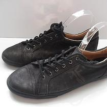 Nwb Frye Leather  Black Kira Studded Low Top Tennis Shoes Sneaker Size 10m Photo