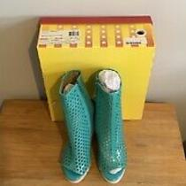 Nwb Jeffrey Campbell Ankle Boots Size 7 Photo