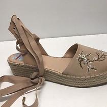 Nwb Nanette Lepore Beatriz Blush Espadrille Wedge Sandals Us 11m 89 Photo