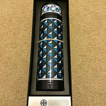 Nwb Neiman Marcus Tory Burch Beverage Container Thermos Water Bottle Photo