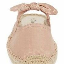 Nwb Saludos Espadrille Mule Sandal Blush Pink Slip on Size 8 Retail 98 Photo