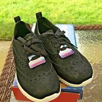 Nwb Skechers Flex Memory Foam Athletic Shoes in Black Size 6 Photo