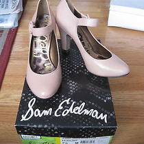 Nwb Women's Sam Edelman Rose Taupe Jemma Leather Pumps Size 7.5 Photo