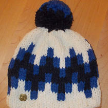 Nwd Jonathan Adler 'Stepped Chevron' Intarsia Pom Pom Hat Nordstrom 50 Photo