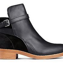 Nwob Acne Studios Clover Leather Suede Black Ankle Jodphur Boots Sz 39 650  Photo