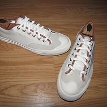 Nwob Fossil Off-White Suede Fashion Sneakers - Women's 9  European 42 Photo