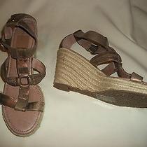Nwob Fossil Selena Platform Wedge Sandal - Size 10 - 70% Off Photo