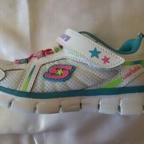 Nwob Girls Skechers Foamies Memory Foam Washable Sneakers Size 11.5 Photo