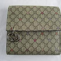 Nwob Gucci Wallet Gg Plus Stars Interlocking Gg Charm Small French Wallet  Photo