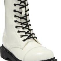 Nwob Jeffrey Campbell Kicka Lace-Up Combat Boots Size 9 Photo