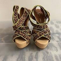 Nwob Jessica Simpson Evangela 2 Strappy Heels Size 8 Photo